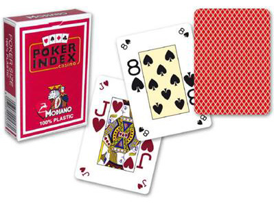 Modiano poker index carte segnate